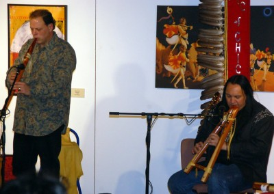 WIth Bill Miller flute